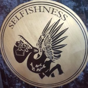 Medallian of Selfishness (detail)